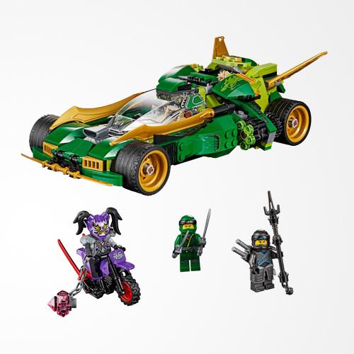 LEGO Ninjago Ninja Nightcrawler 70641