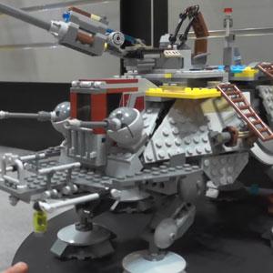 Lego Captain Rex's AT TE 75157