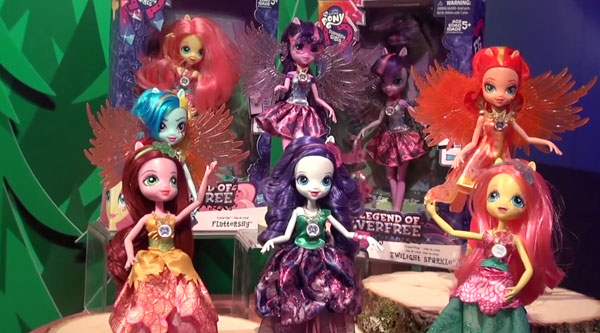 Legend Of Everfree Dolls With Wings
