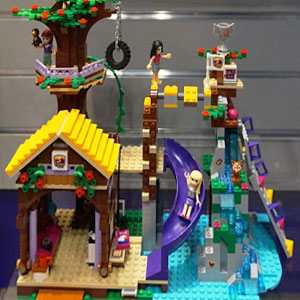 How To Build Lego Friends Adventure Camp Tree House
