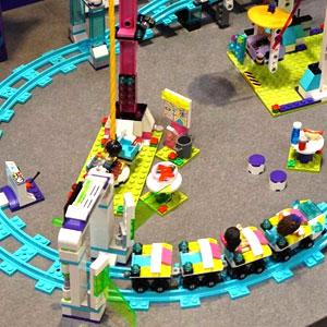 Lego Friends Amusement Park Rollercoaster 41130