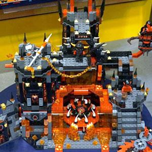 Lego Nexo Knights Jaestros' Volcanic Lair 70316