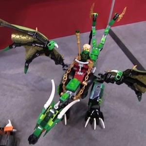 Lego Ninjago The Green NRG Dragon 70593