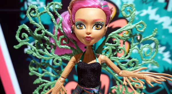 Monster High Garden Ghouls Teresa Thorn Willow