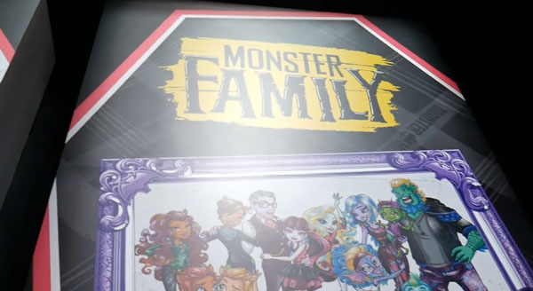 Monster High Family Banner