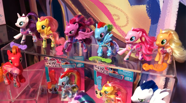 My Little Pony The Movie All About Friends Singles Brushables