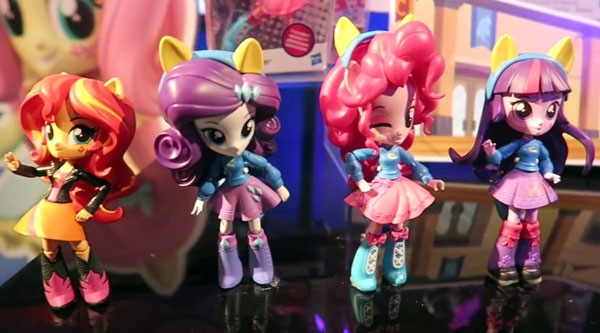 My Little Pony Equestria Girls Minis close