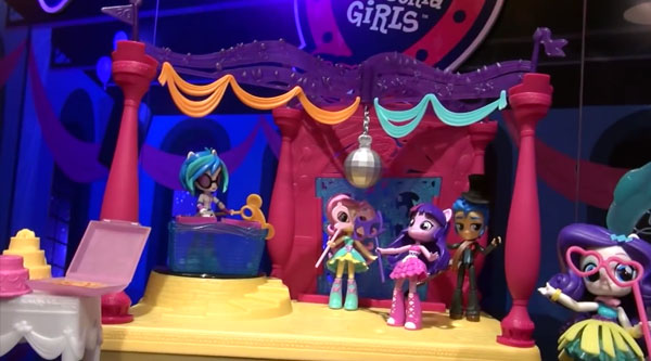 My Little Pony Mini Dance Party Playset