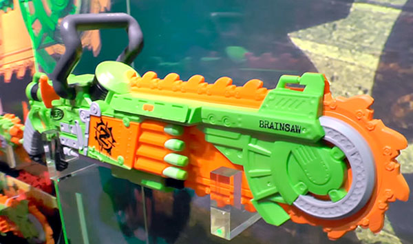 Nerf Brainsaw. The Bonesaw.. custom Nerf foam dart gun. Post apocalyptic  style