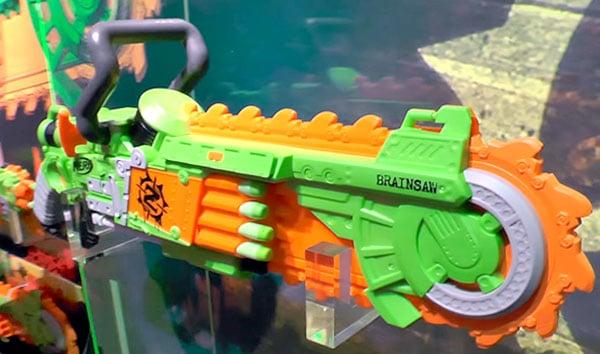 Zombie Strike Brainsaw Blaster