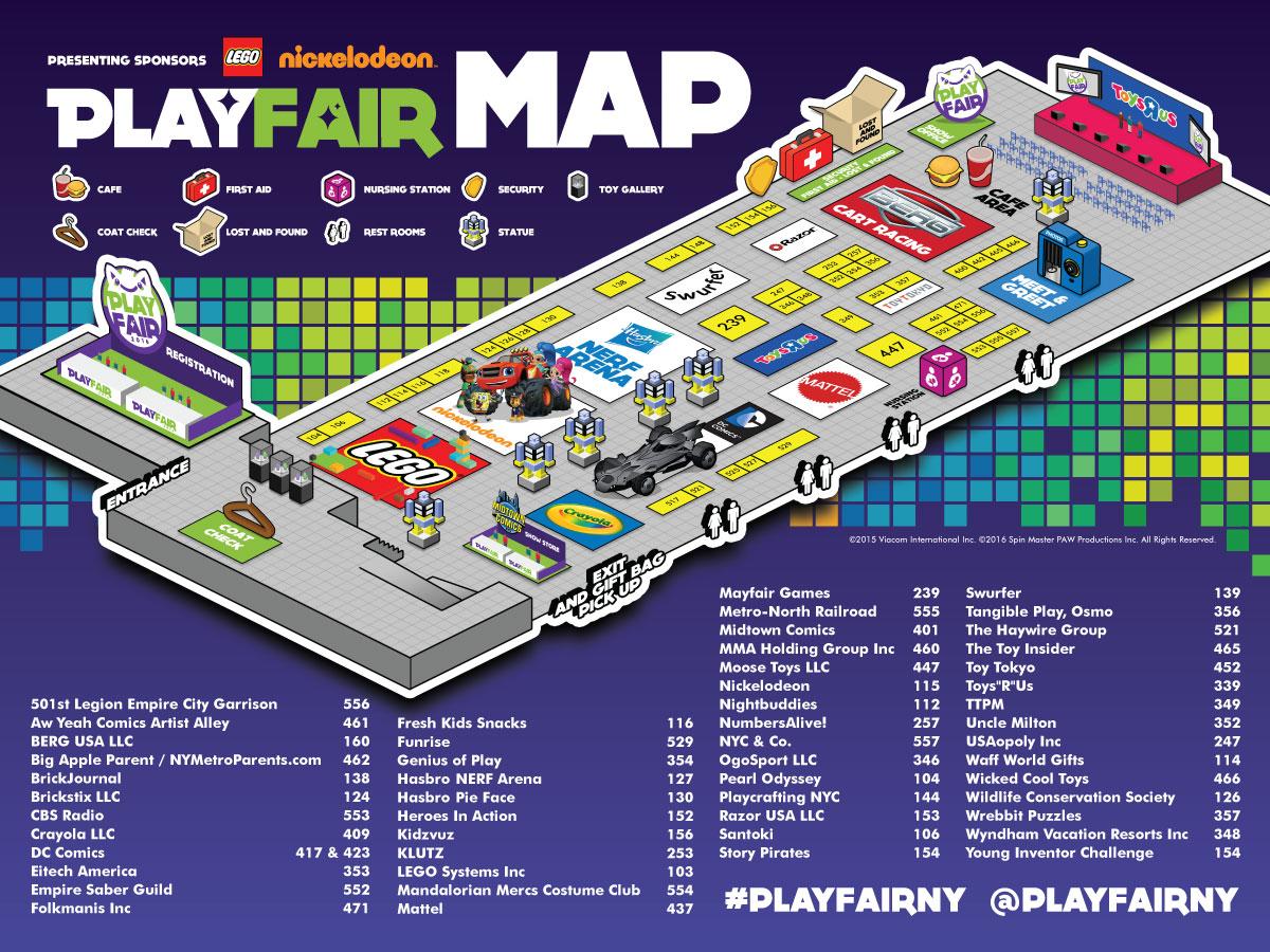 PlayFair Map
