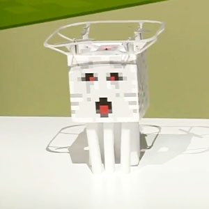 Minecraft Radio Controlled Ghast