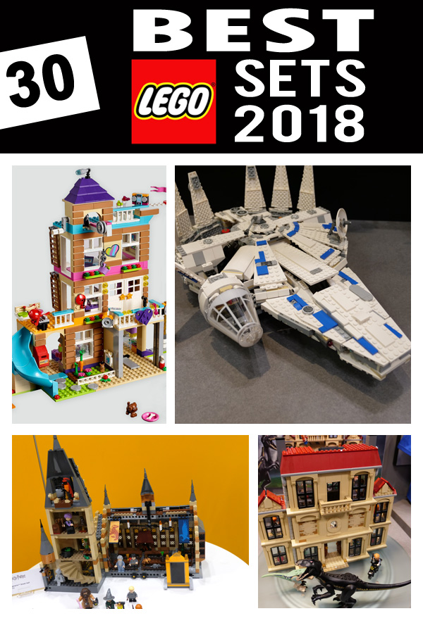 Best Lego Sets 2018