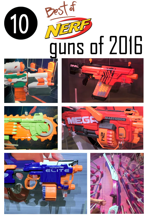 Best Nerf Guns of 2016