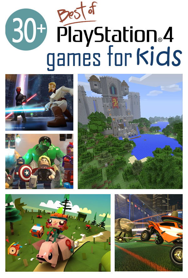 Ps Video Games For Kids Under