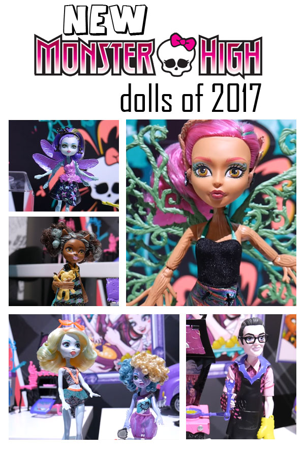 New Monster High Dolls of 2017