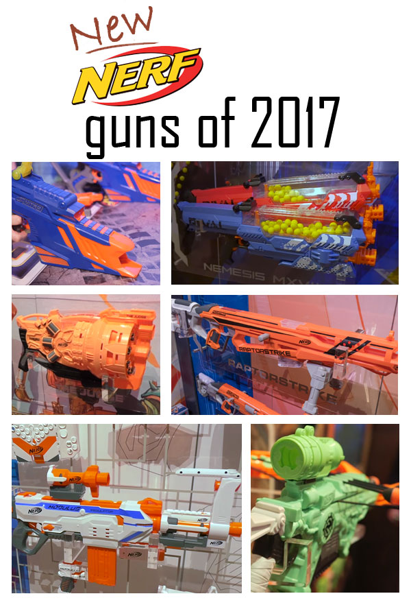 New Nerf Guns Of 2017