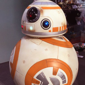 Life-sized BB-8 Droid