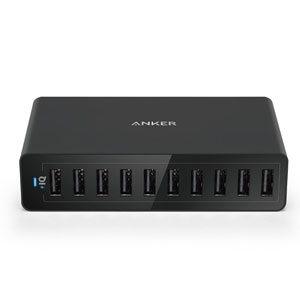 Anker 60W 10-Port USB Charger