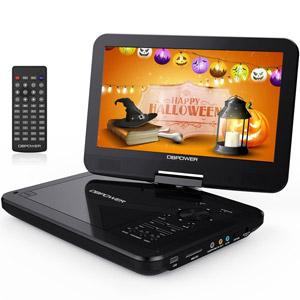 "DBPOWER 10.5"" Portable DVD Player"