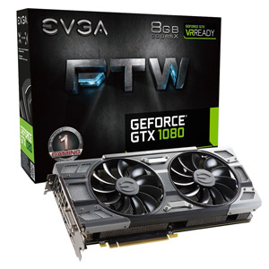 EVGA GeForce GTX 1080 FTW Gaming Graphics Card