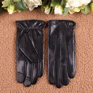 Elma Womens Classic Touchscreen Leather Gloves