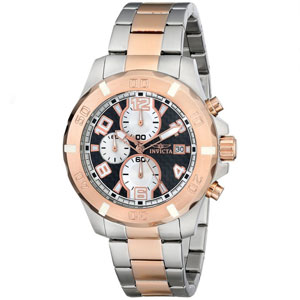 Invicta Men's 17720 Stainless Steel Two Tone Watch