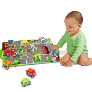 Melissa & Doug Take-Along Town Play