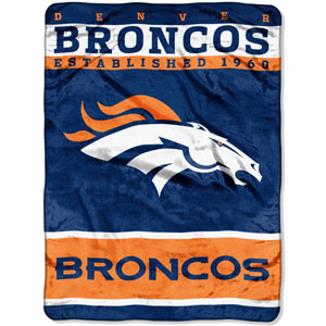 NFL Plush Raschel Throw Blanket