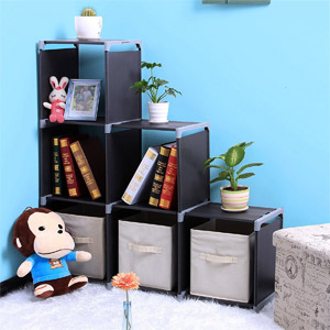 SONGMICS 3-Tier Storage Cube Organizer