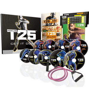 Shaun T's FOCUS T25 Base Kit