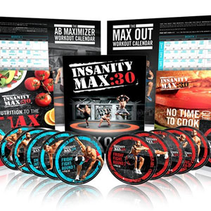 Shaun T's Insanity MAX:30 DVD Workout
