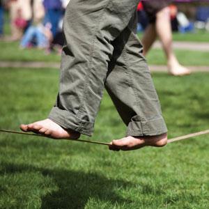 Slackers 50-Feet Slackline with Bonus Teaching Line