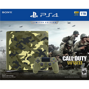 Sony PlayStation 4 Slim COD WWII Bundle