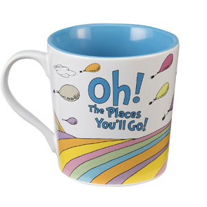 Dr. Seuss Oh The Places Ceramic Mug