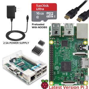 Vilros Raspberry Pi 3 Complete Starter Kit