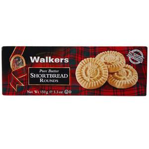 Walkers Shortbread Rounds, 4-PK