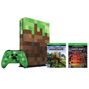 Ensemble Xbox One S 1 To Minecraft édition limitée
