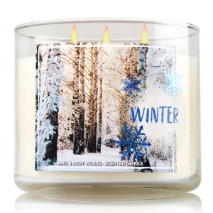 Bath & Body Works Winter Candle