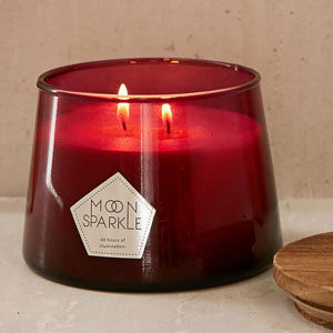 Boho Glass Scented Candle