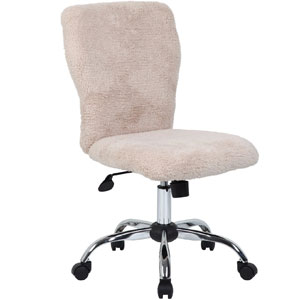 Boss B220-FCRM Tiffany Fur Chair