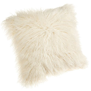 Brentwood 18-Inch Faux Fur Pillow