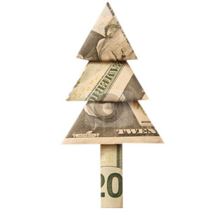Christmas Money Tree Origami