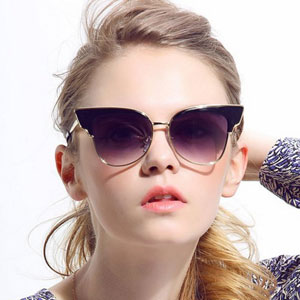 Diamond Candy Cat Ear Sunglasses