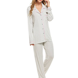 Ekouaer Long Sleeve Pajamas