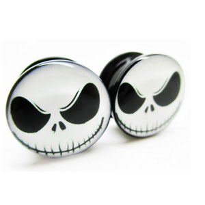 Evil Jack Skellington Plugs