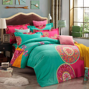 Fadfay Boho Duvet Cover Set