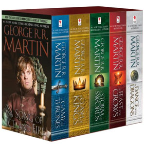 George R. R. Martins A Game of Thrones 5-Book Boxed Set