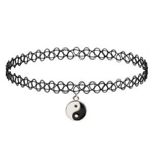 Girlprops Tattoo Choker Necklace