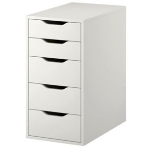 Ikea Alex 5-Drawer Unit